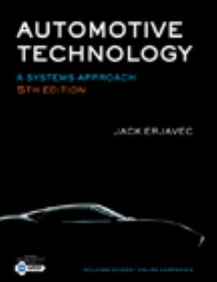 Automotive Technology: A Systems Approach 5e