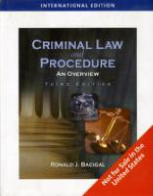 criminal law and procedure There are many ways in which to construct the field of criminal law: it is related to public law in as much as it concerns the relation between the state and.
