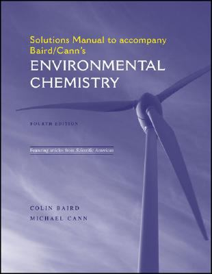 Environmental Chemistry Solutions Manual