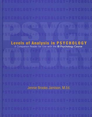 Levels of Analysis in Psychology