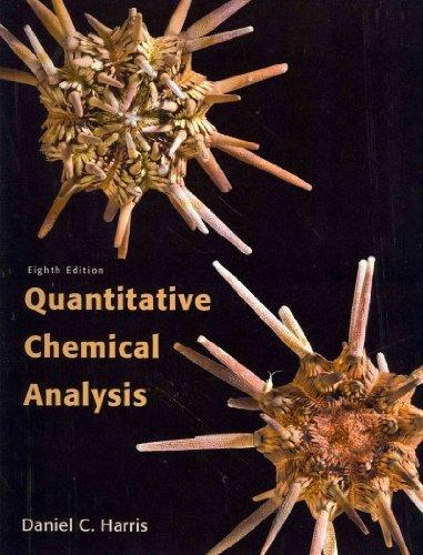 Quantitative Chemical Analysis & Solution Manual
