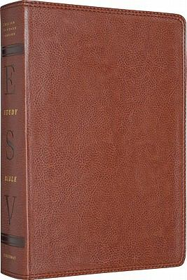The ESV Study Bible: TruTone, Natural Bown