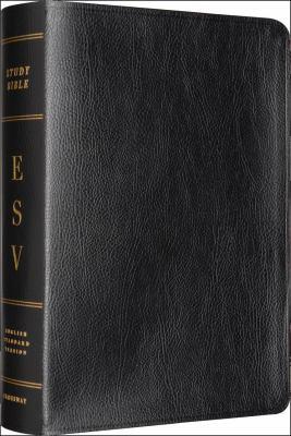 The ESV Study Bible: Bonded Leather, Black
