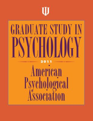 Graduate Study in Psychology