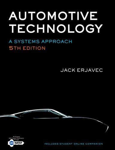 Bundle: Automotive Technology: A Systems Approach, 5th + Tech Manual