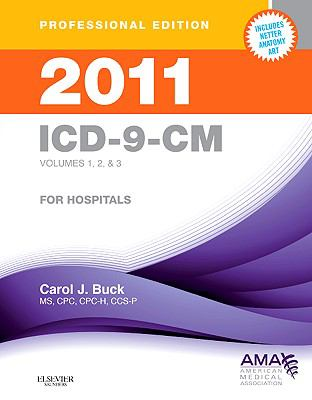 2011 ICD-9-CM, for Hospitals, Volumes 1, 2 and 3, Professional Edition (Spiral bound) (ICD-9 PROF VERS VOLS 1, 2 & 3)
