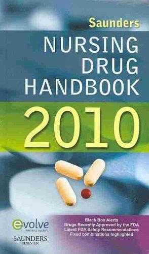 Saunders Nursing Drug Handbook 2010 - Text and E-Book Package, 1e
