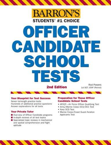 Barron's Officer Candidate School Tests, 2nd Edition