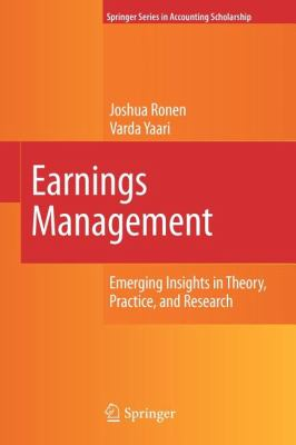 accounting theory earnings persistence Financial accounting theory seventhedition william r scott chapter 11 earnings management chapter 11 – enables investors to better evaluate earnings persistence.