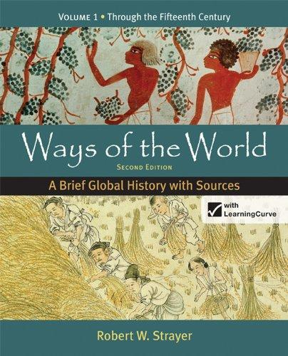 Loose-leaf Version for Ways of the World: A Brief Global History with Sources, Volume 1