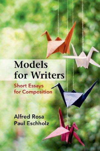 short essays models for composition Models for writers: short essays for composition (alfred rosa and paul eschholz ) has served as assigned reading in college and high school.