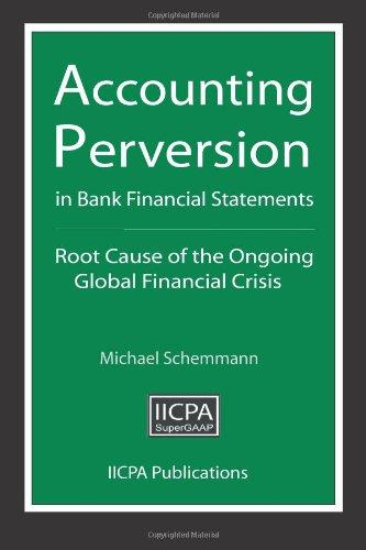 accounting and financial crisis By targeting technical violations in subjective areas of financial reporting and accounting on financial reporting: recent cases and financial crisis.
