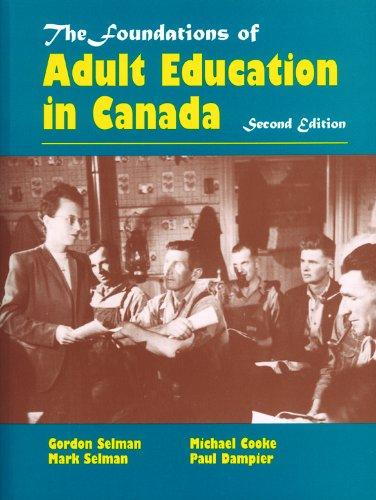 Foundations of Adult Education in Canada