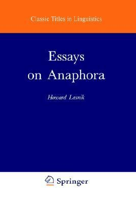 Essays on Anaphora
