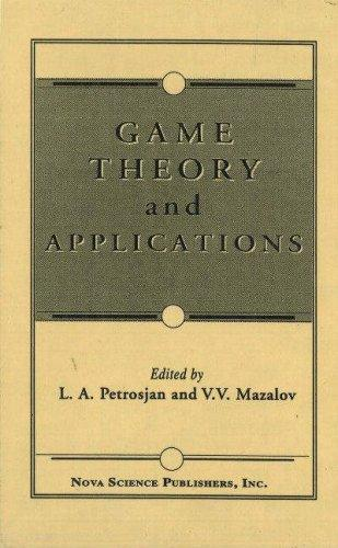 Game Theory and Applications (Game Theory & Applications) (Vol 1)