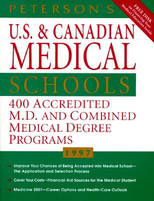 Peterson's U.s.+canadian Med...w/3disk