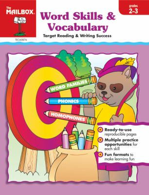 Target Reading and Writing Success - word Skills and Vocabulary