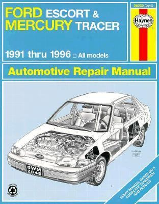 ford escort mercury tracer automotive repair manual. Black Bedroom Furniture Sets. Home Design Ideas