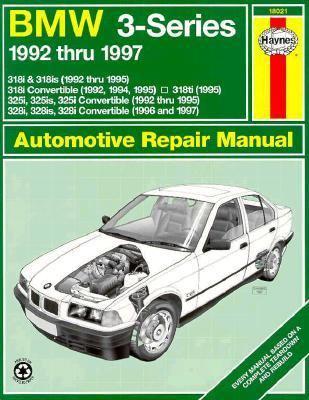 bmw 3 series 1992 thru 1997 automotive repair manual. Black Bedroom Furniture Sets. Home Design Ideas