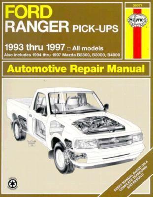 ford ranger  mazda pick ups automotive repair manual    eric jorgensen