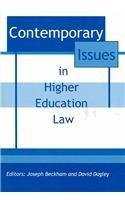 Contemporary Issues in Higher Education Law