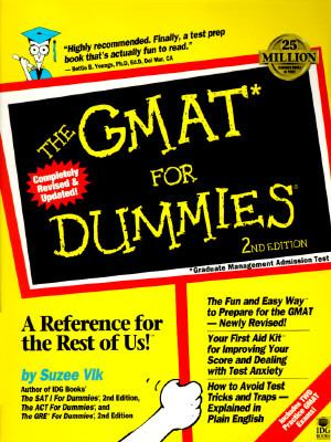 GMAT for Dummies, 2nd Edition - Suzee J. Vlk - Paperback - 2nd Edition