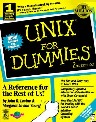 UNIX for Dummies - John R. Levine - Paperback - 2nd ed