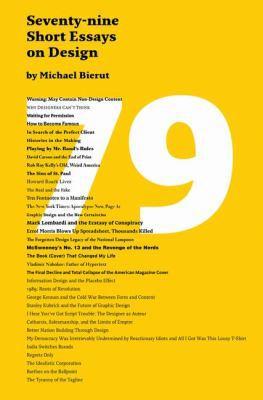 79 Short Essays on Design