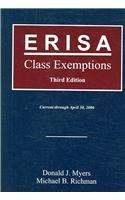 ERISA Class Exemptions, 3rd Edition