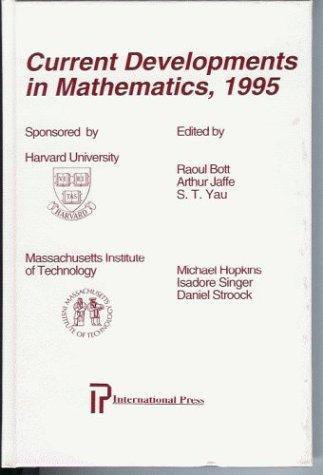 Current Developments in Mathematics 1995