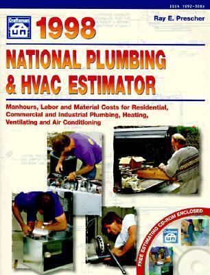 national plumbing and hvac estimator 1998 book disk bk cd rom edition rent 9781572180505