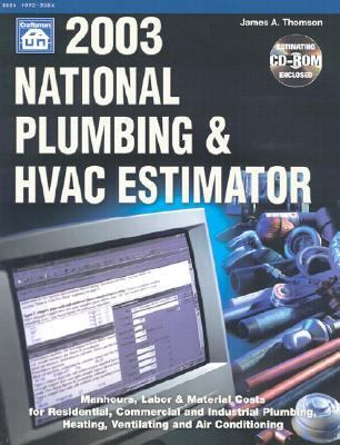 2003 national plumbing hvac estimator rent 9781572181250 1572181257