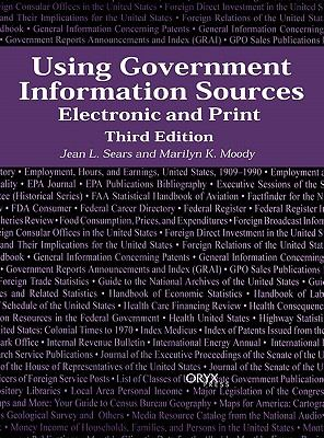 Using Government Information Sources Electronic and Print