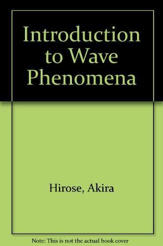 Introduction to Wave Phenomena