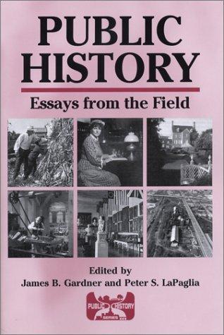 public history essays Amazoncom: presenting the past : essays on history and the public (9780877224136): roy rosenzweig, susan porter benson, stephen brier: books.