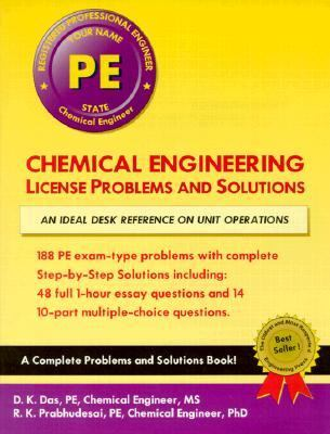 chemical engineering license problems  solutions rent