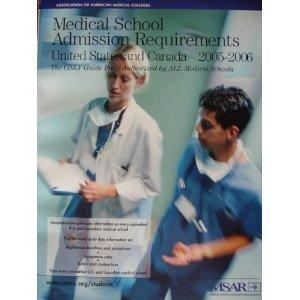 Medical School Admission Requirements (MSAR) 2005-2006: United States and Canada (Msar: Getting Started)