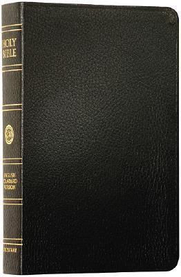 Holy Bible English Standard Version, Black Bonded Leather, Red Letter, Indexed
