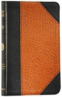 Holy Bible English Standard Version, Black Ostrich, Portfolio Design, Red Letter, Trutone