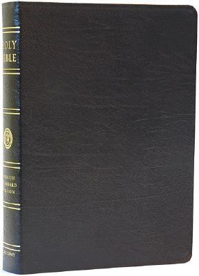Holy Bible English Standard Version, Black Genuine Leather, Black Letter, Wide Margin Reference Edition
