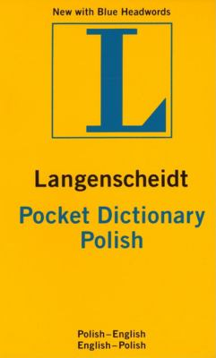 Langenscheidt Polish Dictionary Polish - English English - Polish