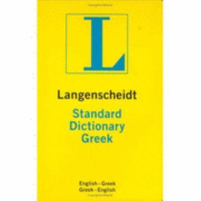 Langenscheidt's Standard Greek Dictionary
