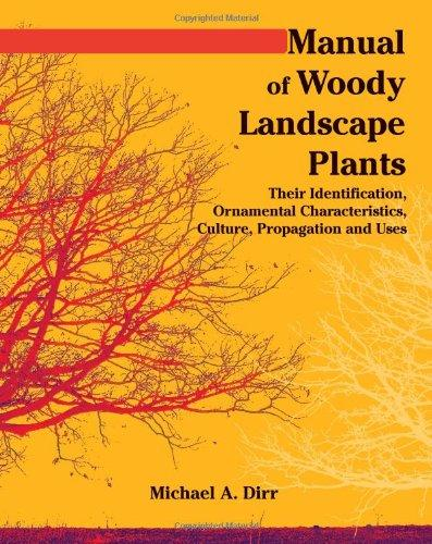 Manual of Woody Landscape Plants: Their Identification, Ornamental Characteristics, Culture, Propogation and Uses
