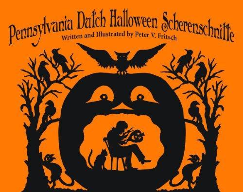 Pennsylvania Dutch Halloween Scherenschn