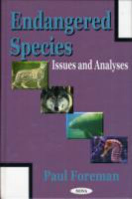 Endangered Species Issues and Analyses
