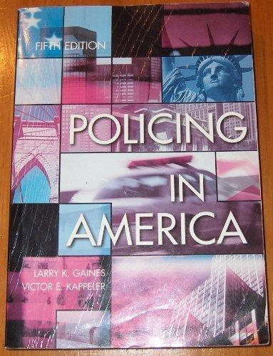 policing in america Law enforcement in the united states is one of three major components of the criminal justice  most american police departments are dispatched from a centralized .