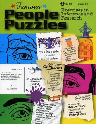 Famous People Puzzles Exercises in Inference And Research