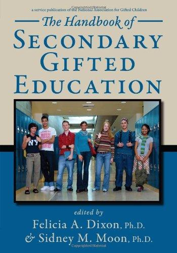 The Handbook of Secondary Gifted Education