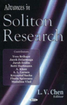 Advances in Soliton Research