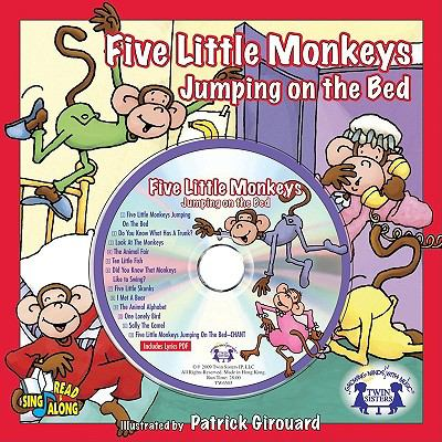 Five Little Monkeys Jumping on the Bed with CD
